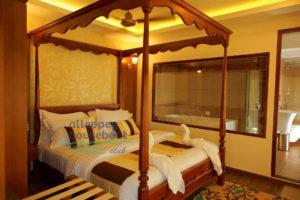 1 bedroom luxury houseboat alleppey
