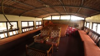 alleppey one bed houseboat