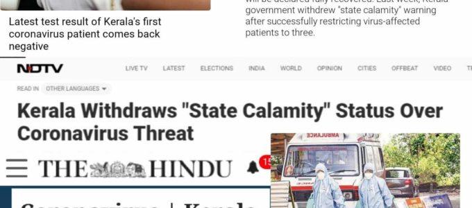 Coronavirus Kerala news
